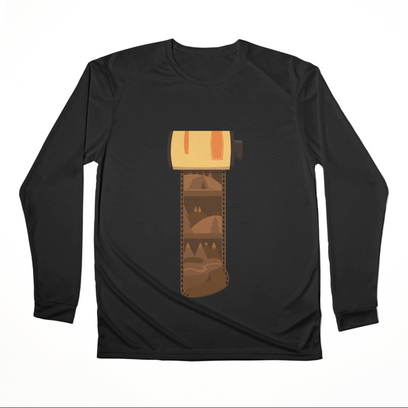 Film Roll Men's Performance Longsleeve T-Shirt by Svaeth's Artist Shop