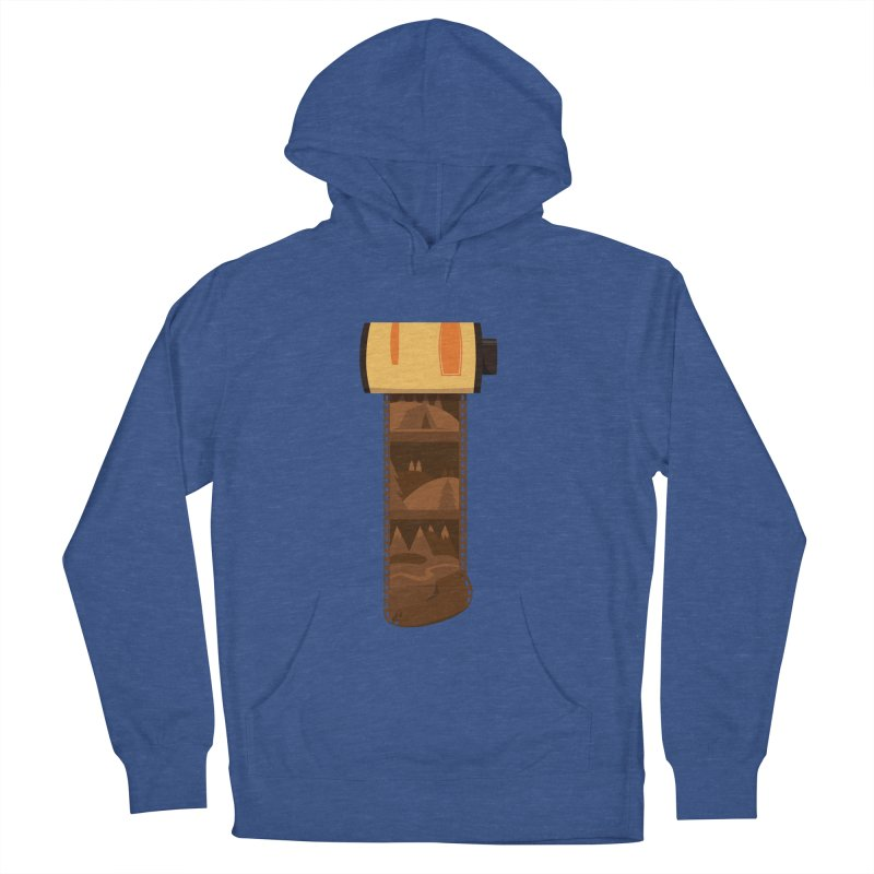 Film Roll Men's French Terry Pullover Hoody by Svaeth's Artist Shop
