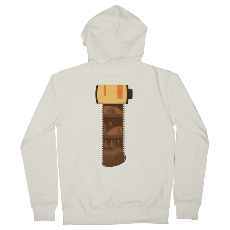 Film Roll Women's French Terry Zip-Up Hoody by Svaeth's Artist Shop
