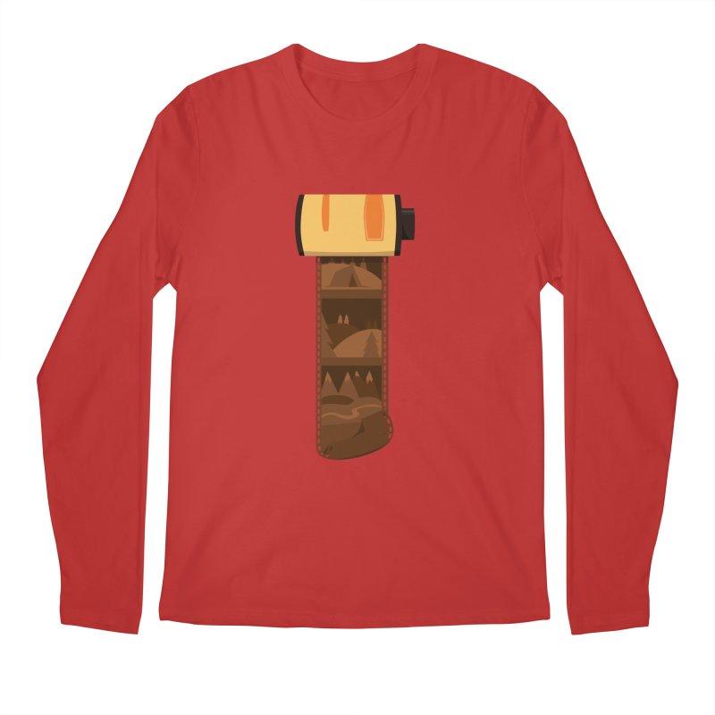 Film Roll Men's Regular Longsleeve T-Shirt by Svaeth's Artist Shop