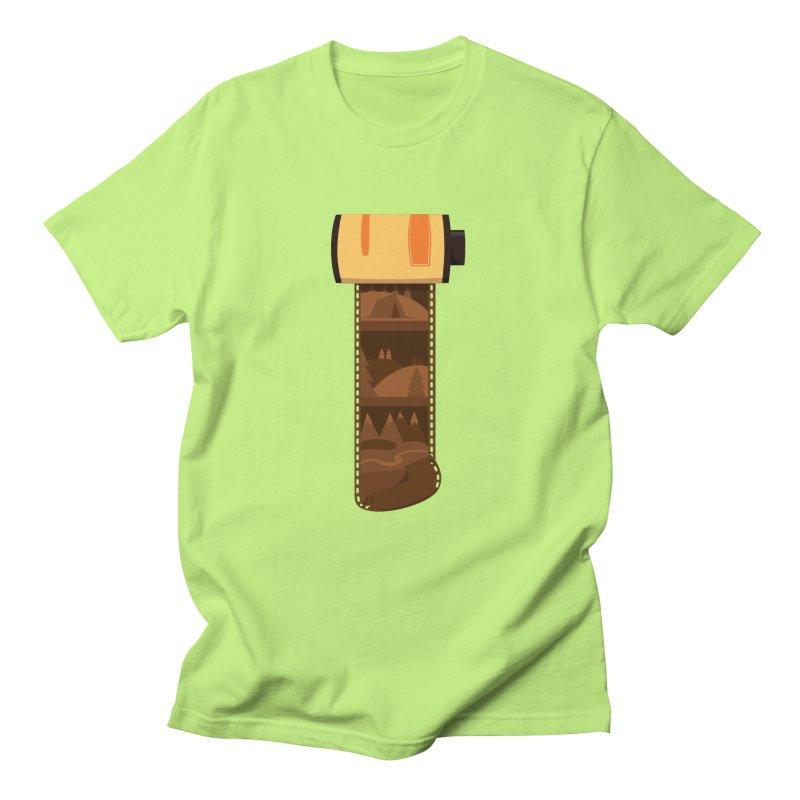 Film Roll Women's Regular Unisex T-Shirt by Svaeth's Artist Shop