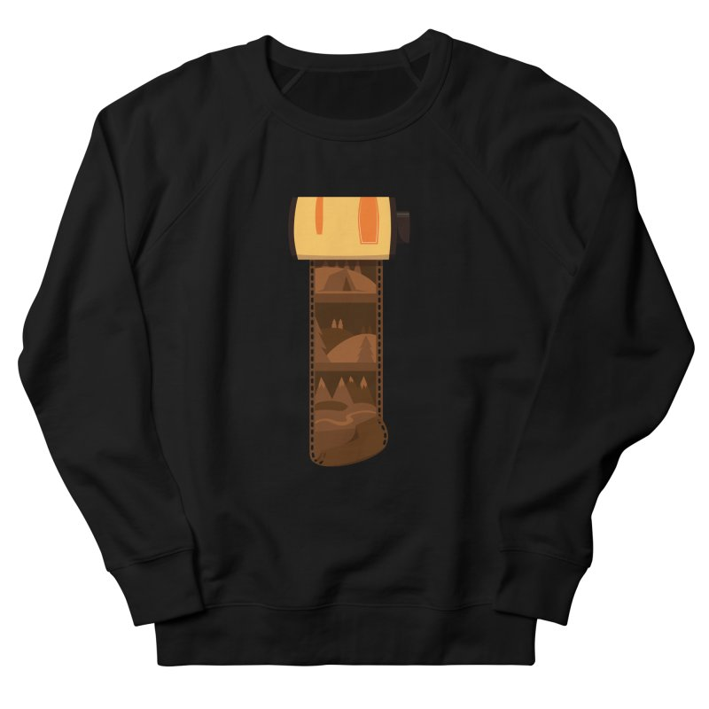 Film Roll Women's French Terry Sweatshirt by Svaeth's Artist Shop