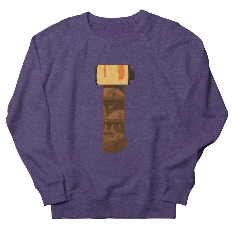 Film Roll Men's French Terry Sweatshirt by Svaeth's Artist Shop