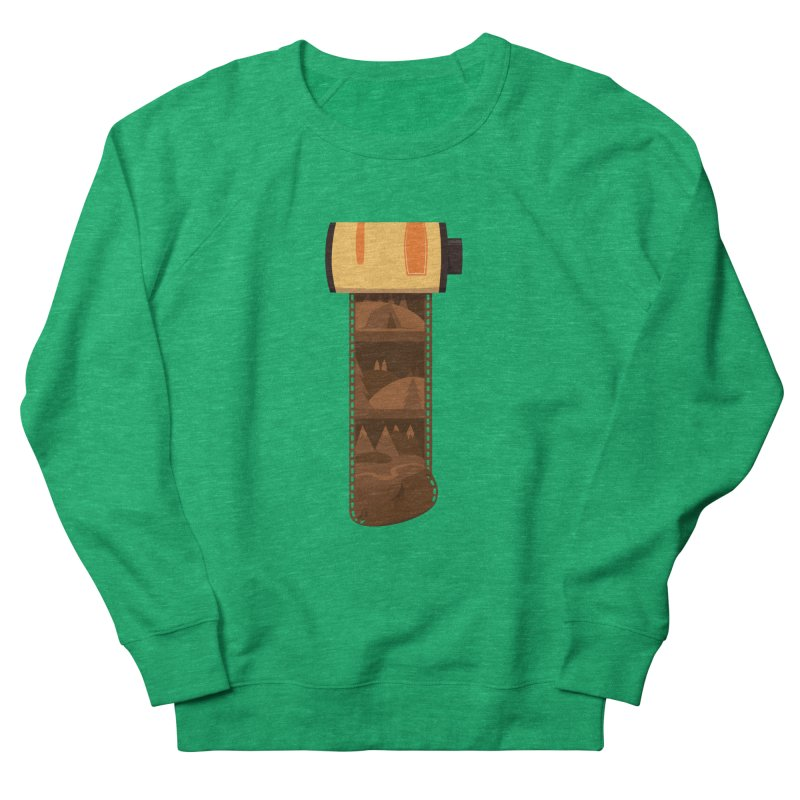 Film Roll Men's French Terry Sweatshirt by Svaeth's Artist Shop