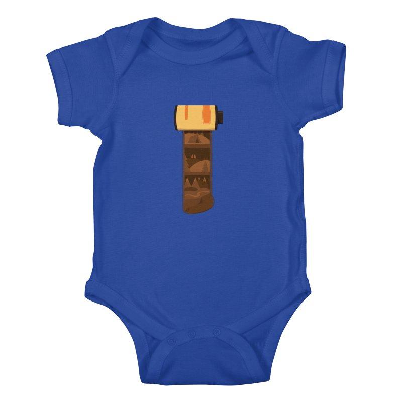 Film Roll Kids Baby Bodysuit by Svaeth's Artist Shop
