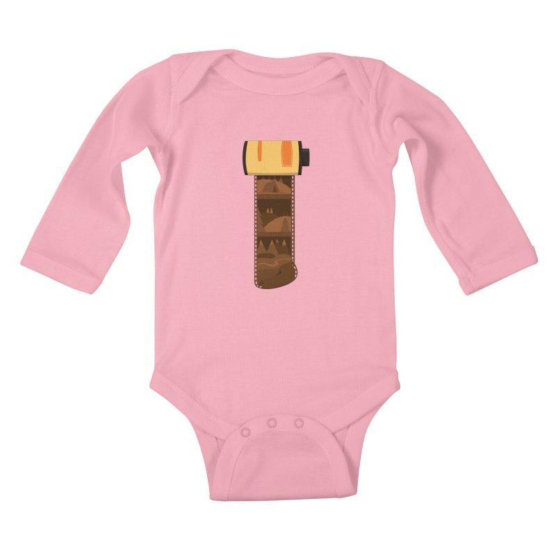 Film Roll Kids Baby Longsleeve Bodysuit by Svaeth's Artist Shop