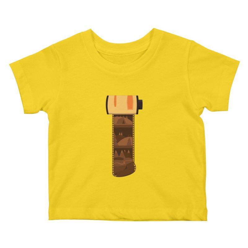 Film Roll Kids Baby T-Shirt by Svaeth's Artist Shop