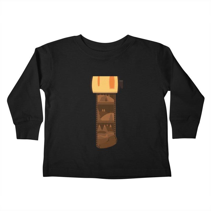 Film Roll Kids Toddler Longsleeve T-Shirt by Svaeth's Artist Shop