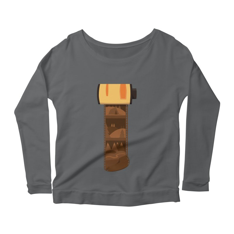 Film Roll Women's Longsleeve T-Shirt by Svaeth's Artist Shop