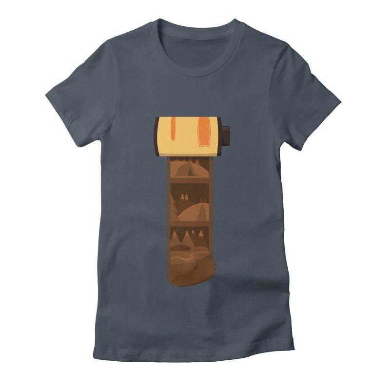 Film Roll Women's T-Shirt by Svaeth's Artist Shop