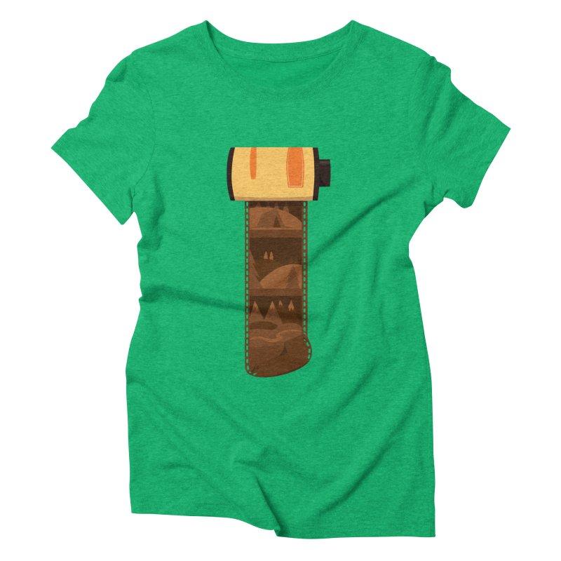 Film Roll Women's Triblend T-Shirt by Svaeth's Artist Shop