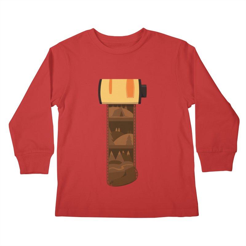 Film Roll Kids Longsleeve T-Shirt by Svaeth's Artist Shop