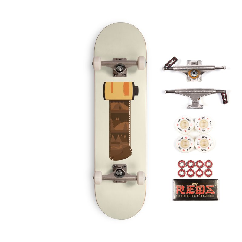 Film Roll Accessories Complete - Pro Skateboard by Svaeth's Artist Shop