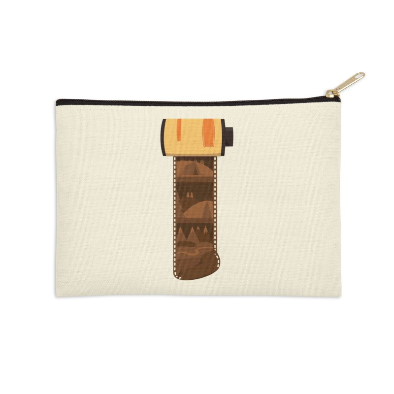 Film Roll Accessories Zip Pouch by Svaeth's Artist Shop
