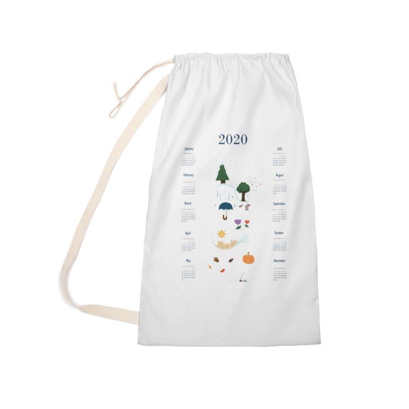 Seasons through the Year - 2020 Calendar Accessories Bag by Svaeth's Artist Shop