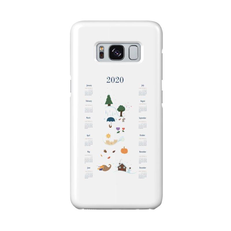 Seasons through the Year - 2020 Calendar Accessories Phone Case by Svaeth's Artist Shop