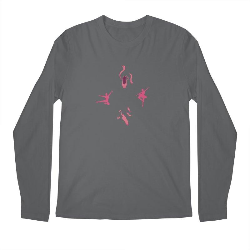 Ballet Dancer Men's Longsleeve T-Shirt by Svaeth's Artist Shop