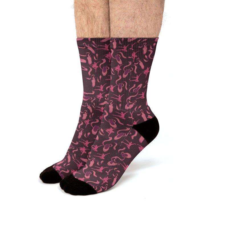 Ballet Dancer Men's Socks by Svaeth's Artist Shop