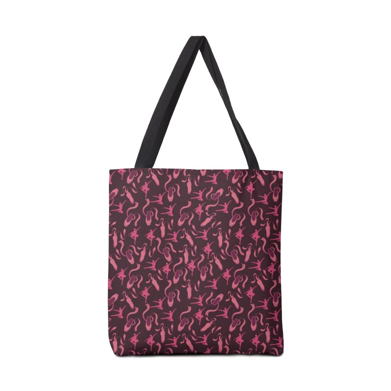Ballet Dancer Accessories Bag by Svaeth's Artist Shop