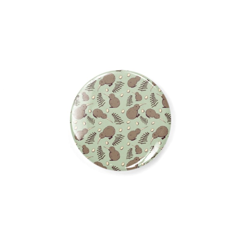 Kiwi Bird Accessories Button by Svaeth's Artist Shop