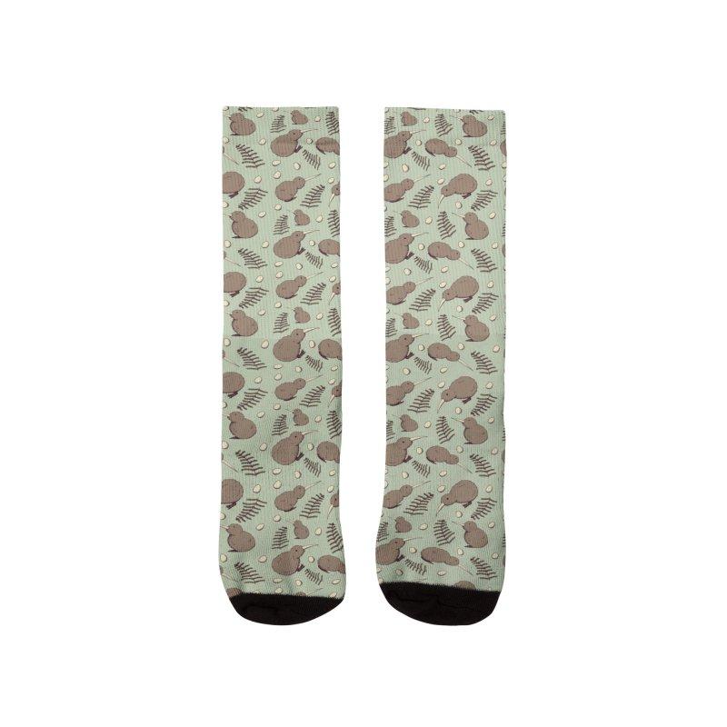 Kiwi Bird Men's Socks by Svaeth's Artist Shop