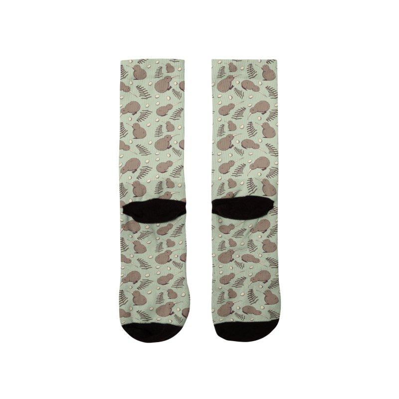 Kiwi Bird Women's Socks by Svaeth's Artist Shop