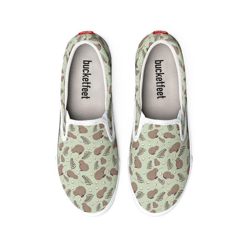 Kiwi Bird Women's Shoes by Svaeth's Artist Shop