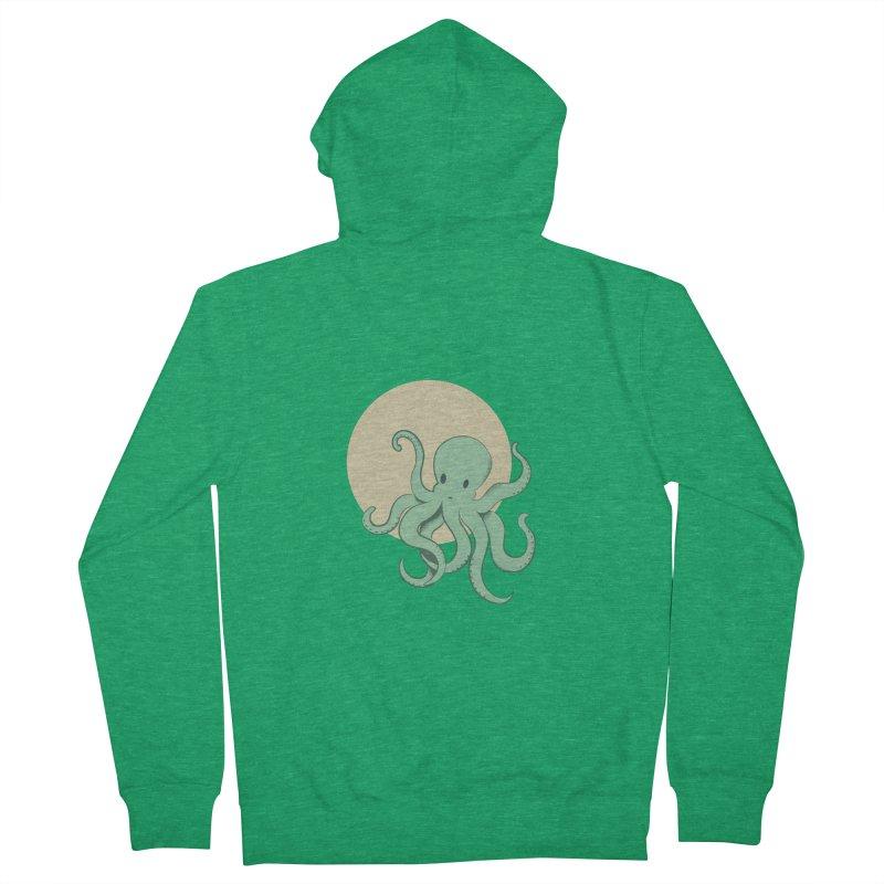 Octopus Women's Zip-Up Hoody by Svaeth's Artist Shop