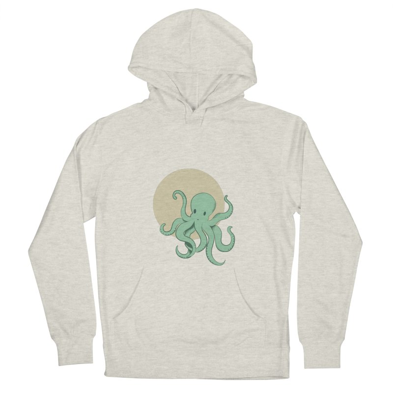 Octopus Men's French Terry Pullover Hoody by Svaeth's Artist Shop