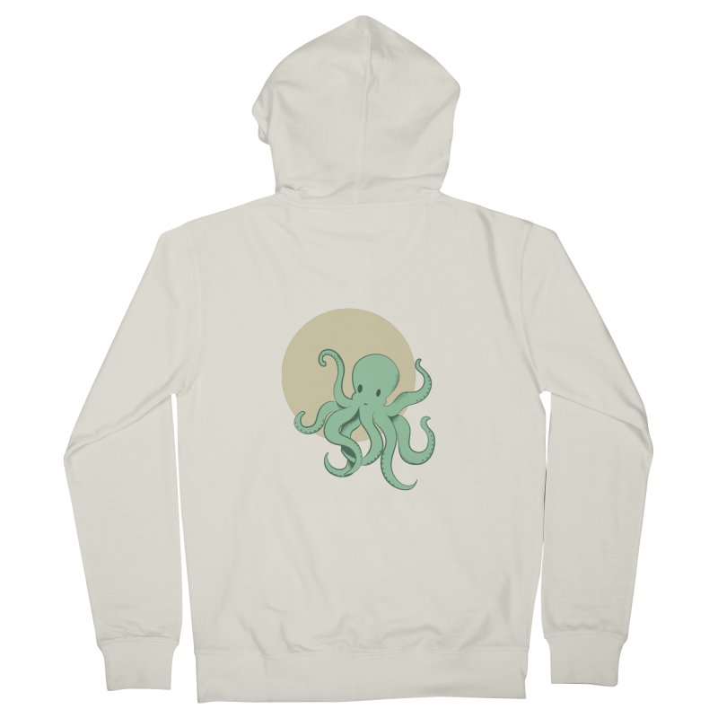 Octopus Women's Zip-Up Hoody by Svaeth's Artist Shop