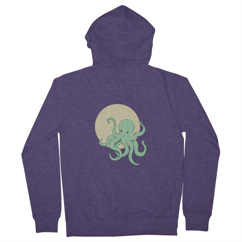 Octopus Men's Zip-Up Hoody by Svaeth's Artist Shop