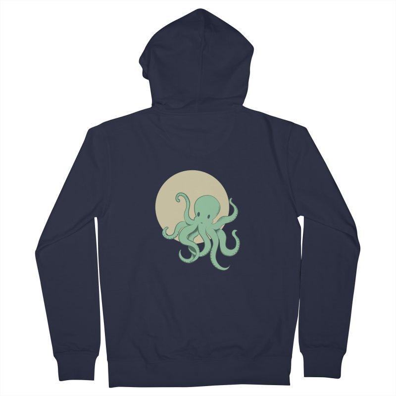 Octopus Men's Zip-Up Hoody by Svaeth's Artist Shop