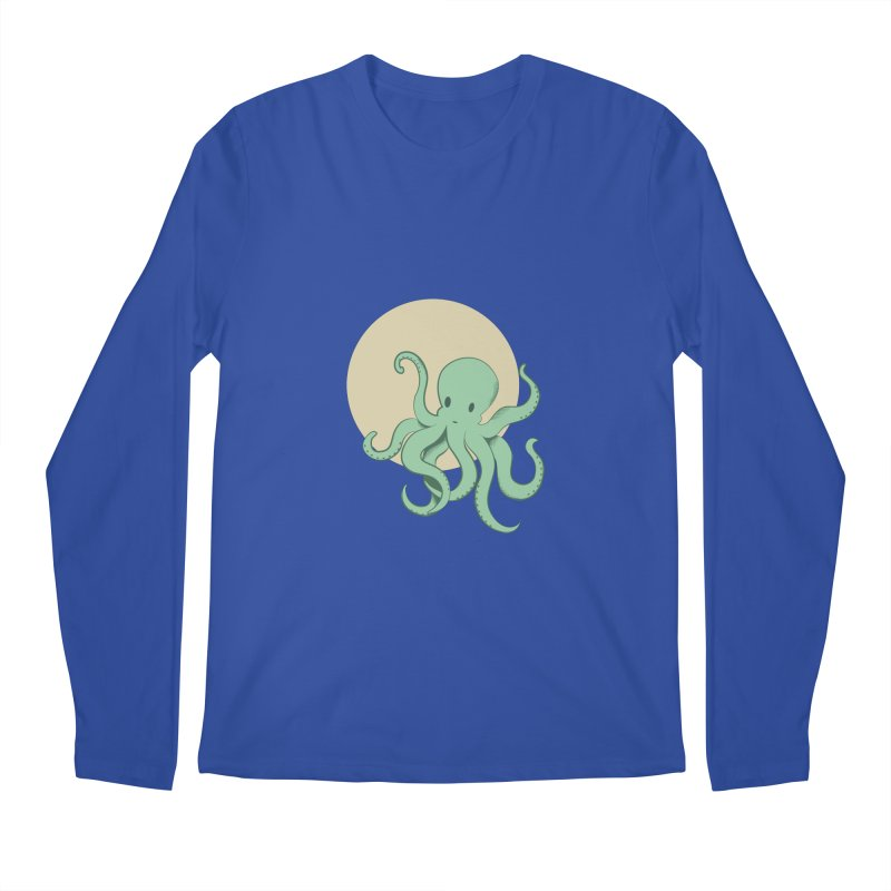 Octopus Men's Regular Longsleeve T-Shirt by Svaeth's Artist Shop