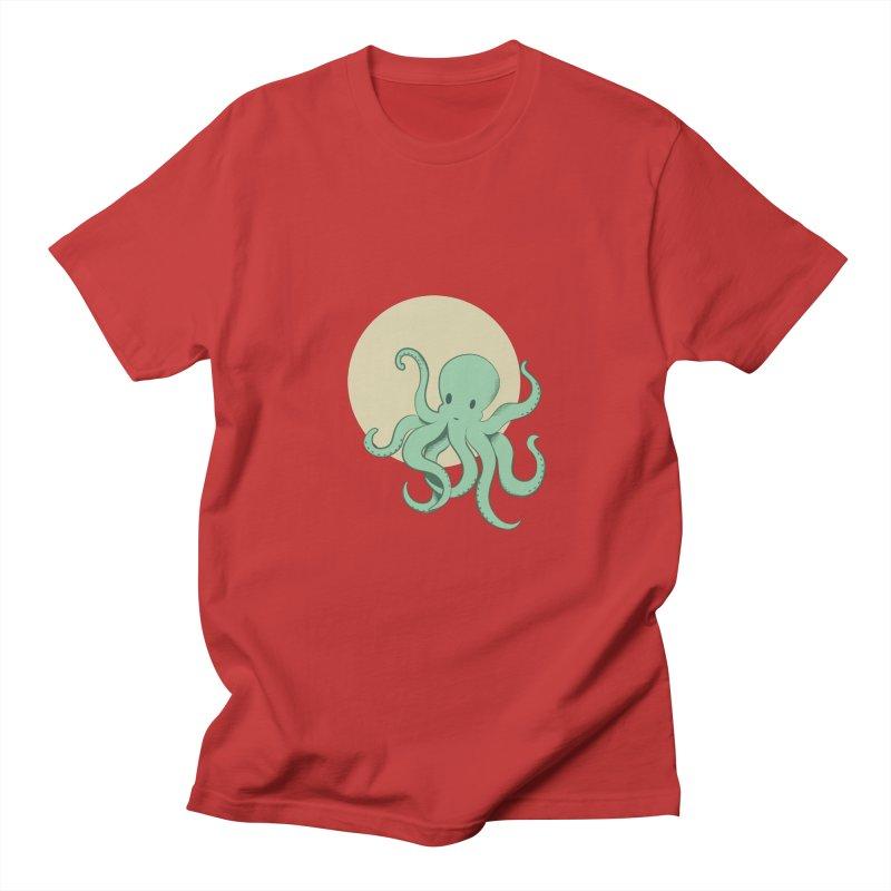 Octopus Women's Unisex T-Shirt by Svaeth's Artist Shop