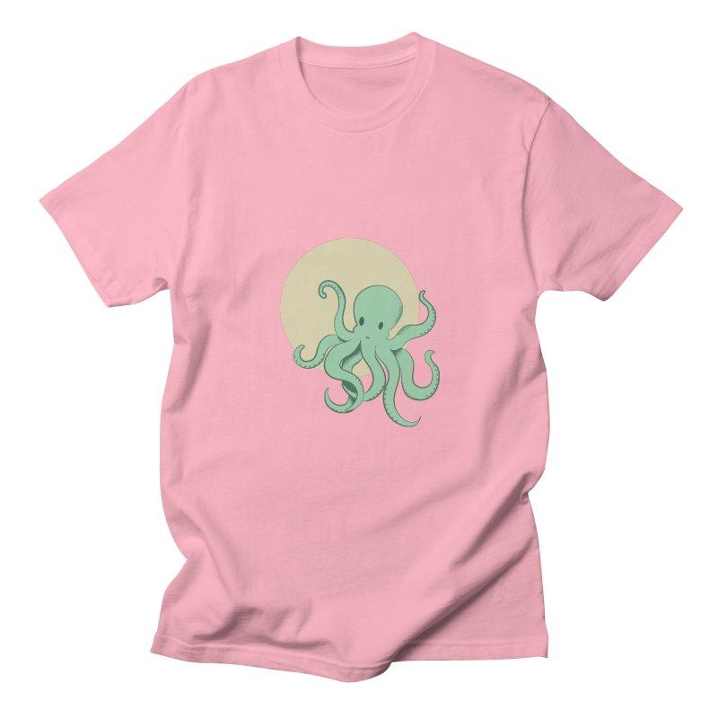 Octopus Men's T-shirt by Svaeth's Artist Shop