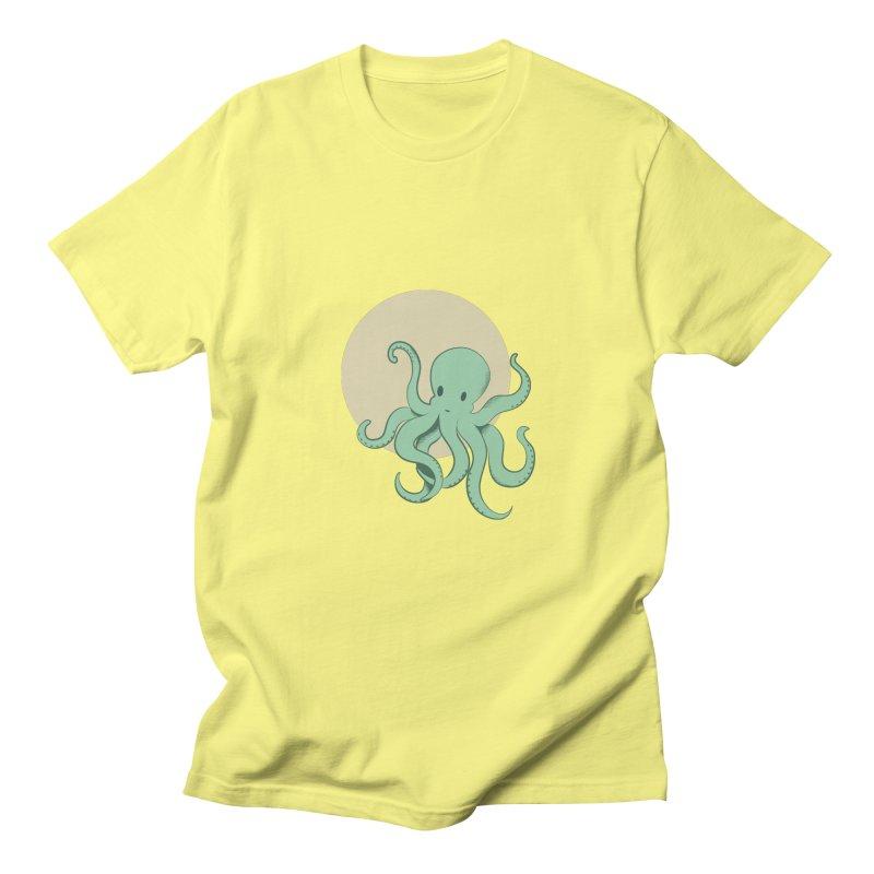 Octopus Men's Regular T-Shirt by Svaeth's Artist Shop