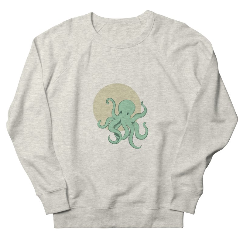 Octopus Women's French Terry Sweatshirt by Svaeth's Artist Shop