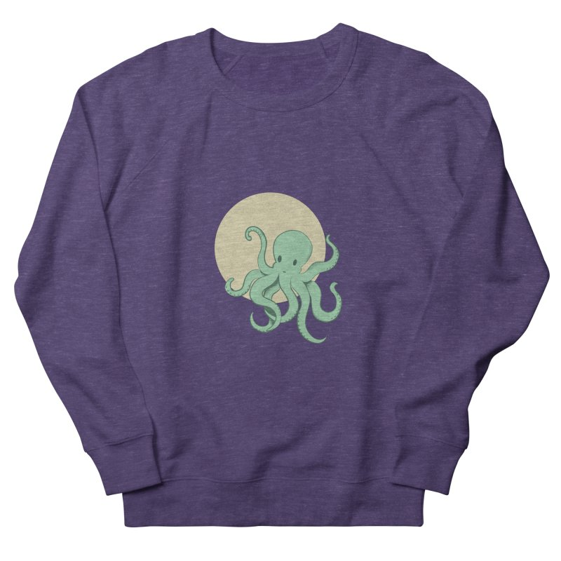 Octopus Men's French Terry Sweatshirt by Svaeth's Artist Shop