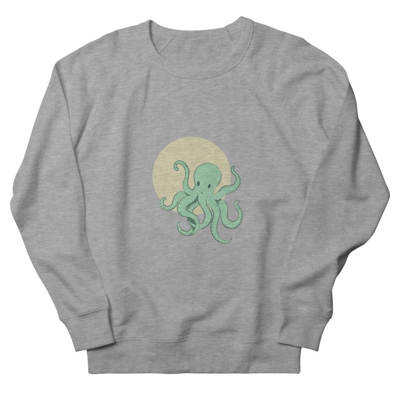 Octopus Men's French Terry Sweatshirt by Svaeth's Artist Shop