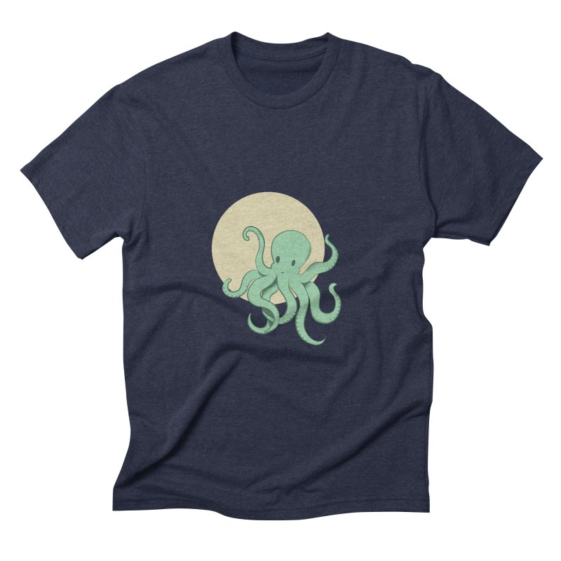 Octopus Men's Triblend T-Shirt by Svaeth's Artist Shop