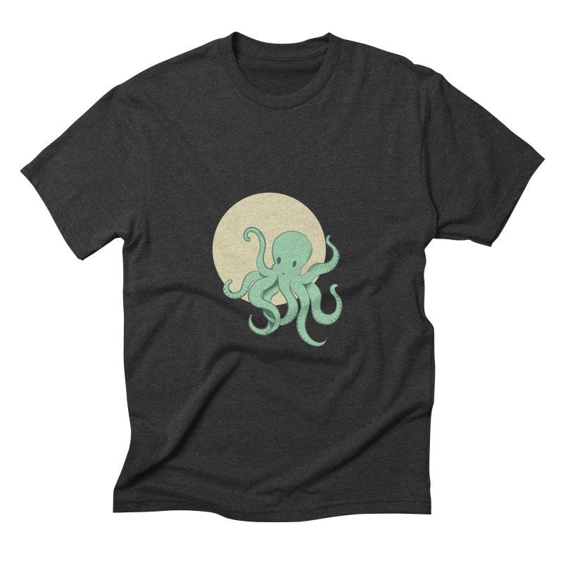 Octopus Men's Triblend T-Shirt by Svaeth's Artist Shop