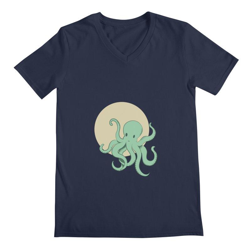 Octopus Men's V-Neck by Svaeth's Artist Shop