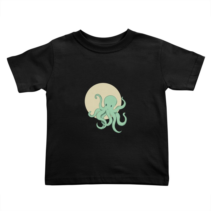 Octopus Kids Toddler T-Shirt by Svaeth's Artist Shop
