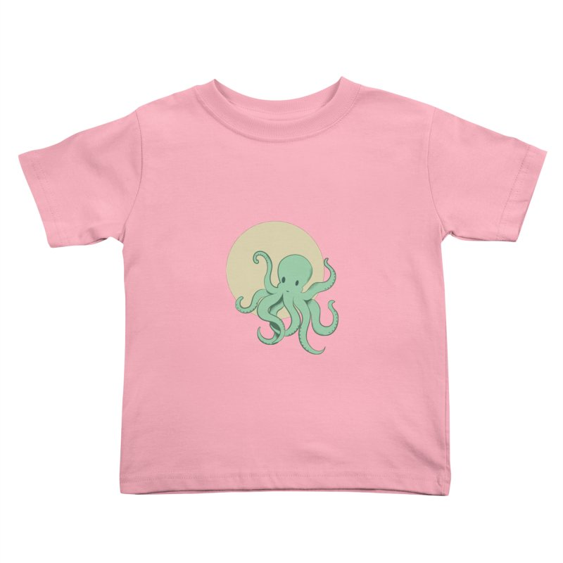 Octopus Kids Toddler T-Shirt by Svaeth's Artist Shop