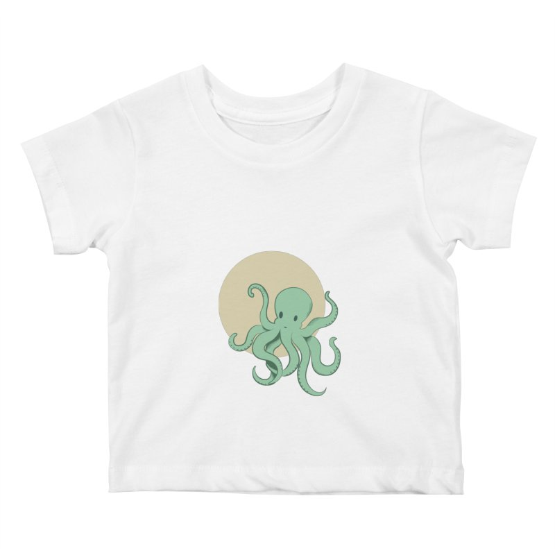 Octopus Kids Baby T-Shirt by Svaeth's Artist Shop