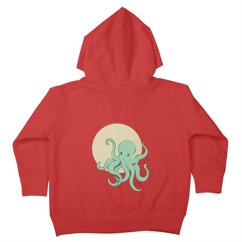 Octopus Kids Toddler Zip-Up Hoody by Svaeth's Artist Shop