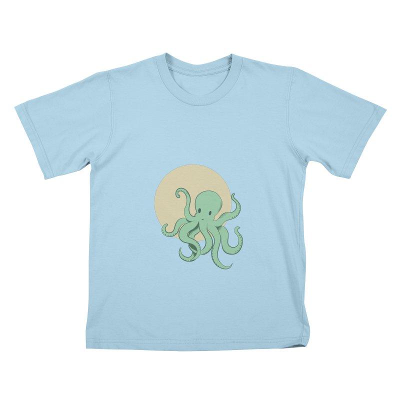 Octopus Kids T-Shirt by Svaeth's Artist Shop