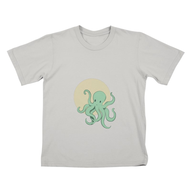 Octopus Kids T-shirt by Svaeth's Artist Shop