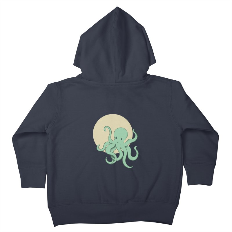 Octopus Kids Toddler Zip-Up Hoody by Svaeth's Artist Shop