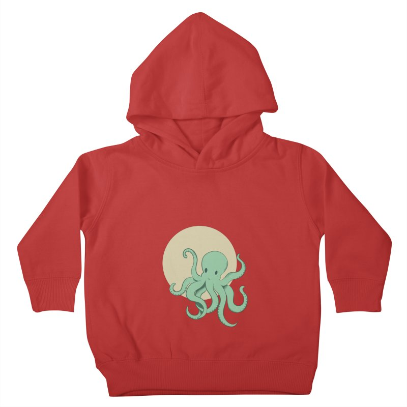 Octopus Kids Toddler Pullover Hoody by Svaeth's Artist Shop